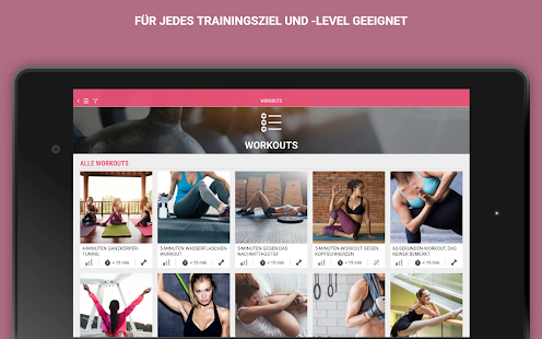 Womens Health Personal Trainer- Workout & Training- screenshot thumbnail