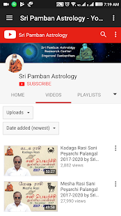 Download All Tamil YouTube Rasi Palan Videos For PC Windows and Mac apk screenshot 18