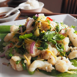 Green Mango Salad with Balmain bug