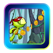 Ninja Kid Turtles Run Adventure