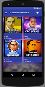 Dr Babasaheb Ambedkar - Songs screenshot 1