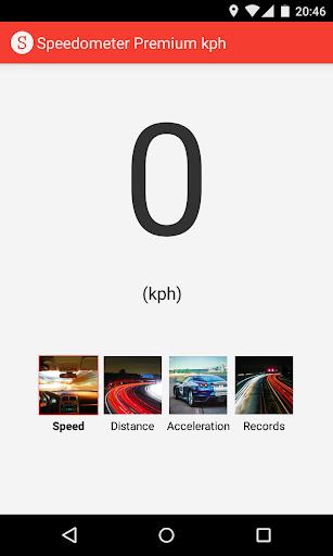 Speedometer Premium kph