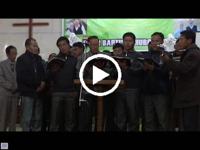 Video: The pastors beautiful 4 part harmony singing in the Laigmai language in one of the evening church service.