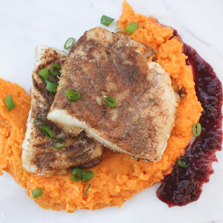 Cod with Sweet Potato Mash Recipe