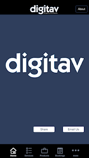Digitav CRM- screenshot thumbnail