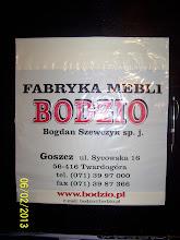 Photo: Bodzio Market ldpe blysk Flekso Bialy Czerwony Czarny na Kremowej od 5000 szt