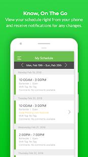 Push Employee Scheduling
