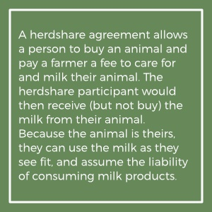 information about herdshare agreements