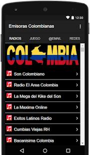 Emisoras Colombianas Gratis PRO - náhled