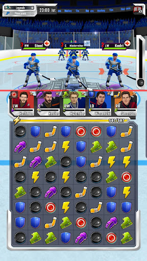 Puzzle Hockey - Official NHLPA Match 3 RPG 2.34.0 screenshots 6