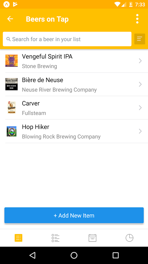 Untappd for Business- screenshot