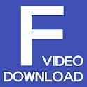 F Video Download - 페북 동영상 다운로드 icon
