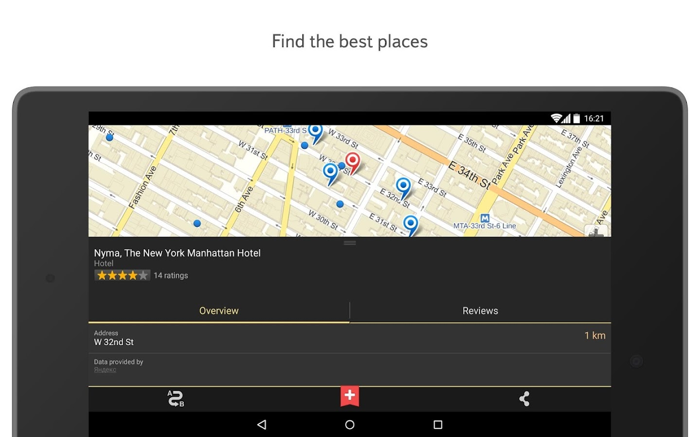 Yandex.Maps- screenshot