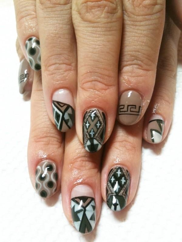 cute nail designs creem (67)
