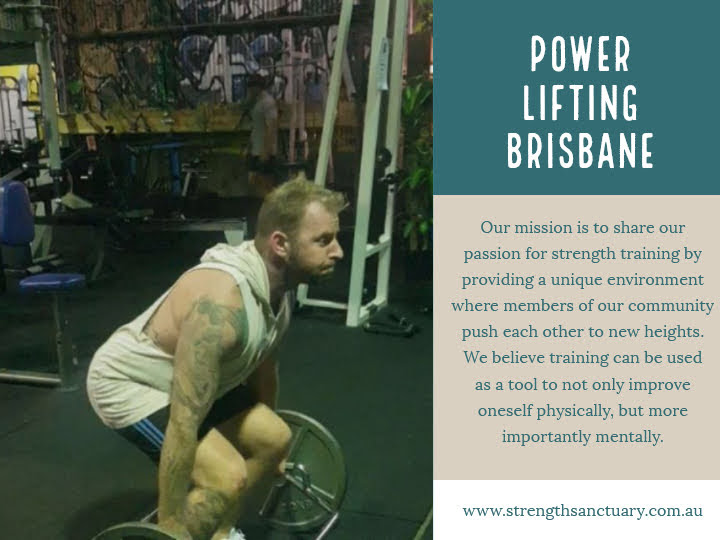Power Lifting Brisbane