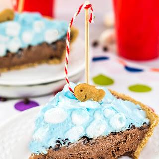 Gone Fishin S'mores Ice Cream Pie
