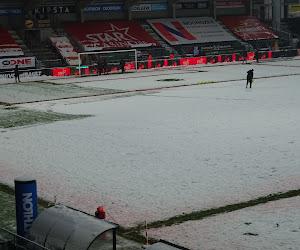 Sneeuwtapijt op de Belgische velden krijgt nog een staartje: KRC Genk en KV Kortrijk leggen klacht neer bij de voetbalbond en eisen forfaitzege