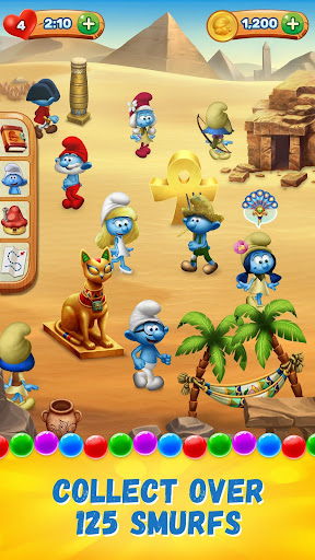 Smurfs Bubble Shooter Story 2.02.16693 screenshots 2
