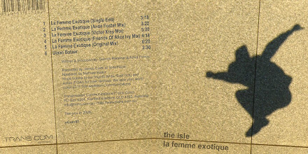 Photo: Master Artwork: ECOM61, The Isle - La Femme Exotique, released May 2011. Design by Dennis Remmer.