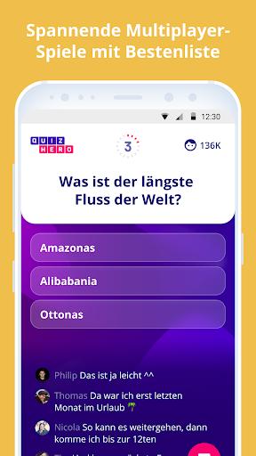 QuizHero ? Live Quiz-Show  captures d'écran 2