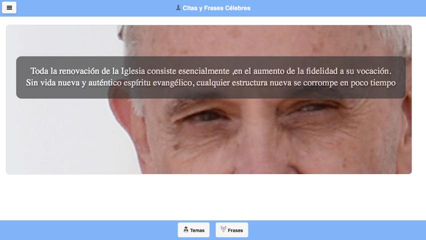 android Frases del Papa Francisco Screenshot 15