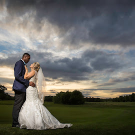 Just the two of us by Paul Eyre - Wedding Bride & Groom ( derby wedding photographer, wedding photography, married, nottingham wedding photographer, weddings, couple )