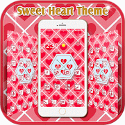 Red theme Valentine's Day APK for Bluestacks