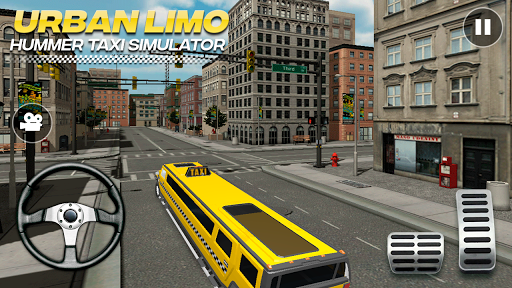 Urban Hummer Limo taxi simulator 6.0 screenshots 3