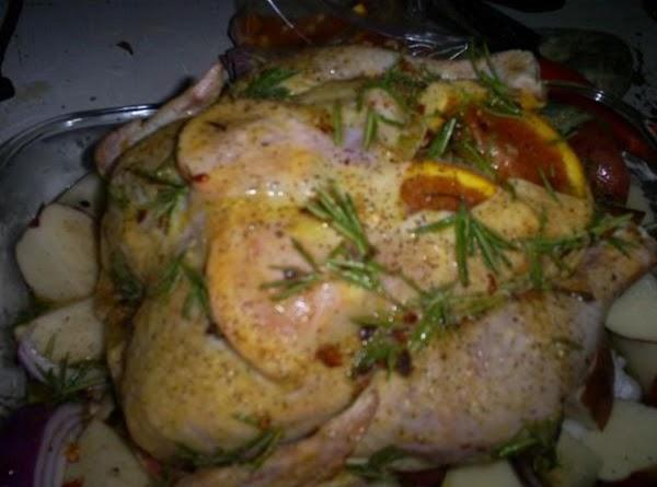 Rosemary And Orange Roasted Chicken Recipe