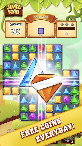 Jewel Star: Jewel & Gem Match 3 Kingdom android2mod screenshots 3