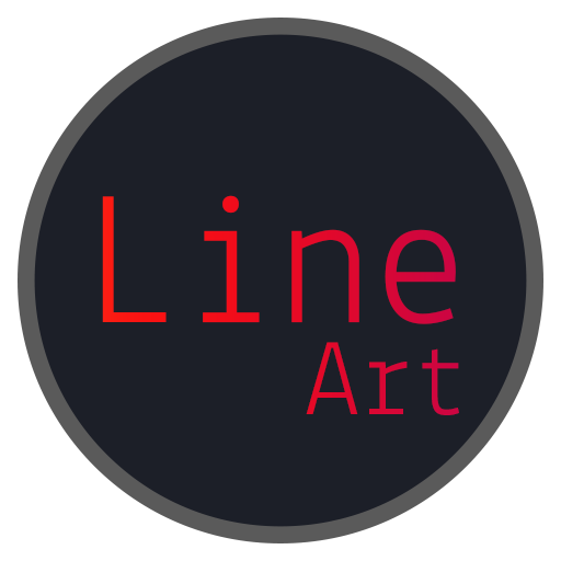 Line-Art EMUI 8/5 theme (app)