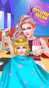 Mommy & Baby Cute Hair Salon- screenshot thumbnail