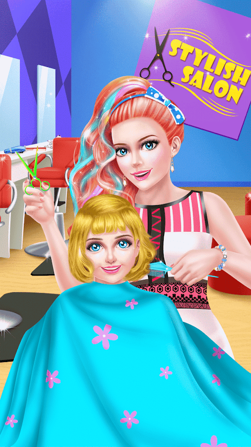 Mommy & Baby Cute Hair Salon- screenshot