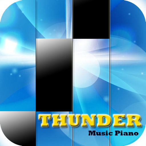 Thunder Piano Tiles (game)