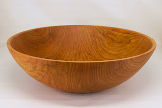 "Photo: Tim Aley 15 1/2"" x 4 1/2"" bowl [Black Cherry]"