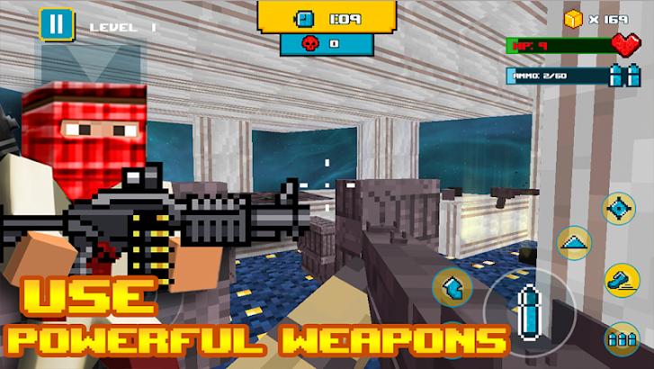 Terror City Cube Survival screenshot