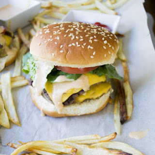 The Double Patty Burger (In-N-Out Style) with a Special Sauce