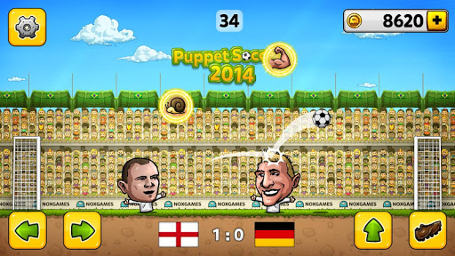 ⚽Puppet Soccer 2014 - Big Head Football ? screenshot 2