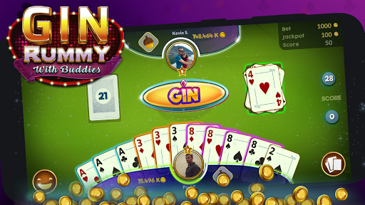 Gin Rummy - Online cheat screenshots 1