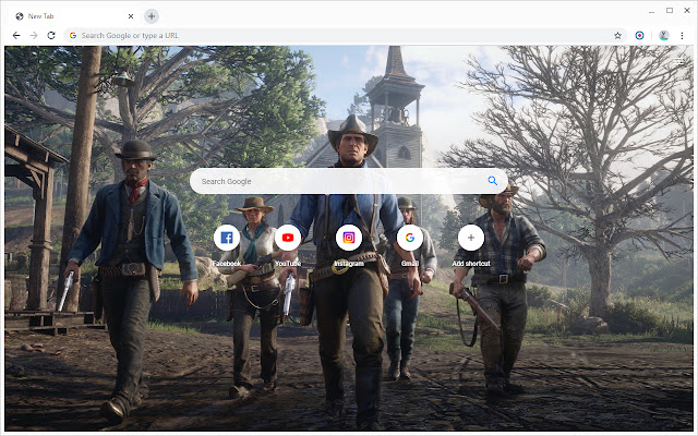 New Tab - Red Dead Redemption 2