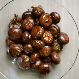 Roasted Balsamic Mushrooms.