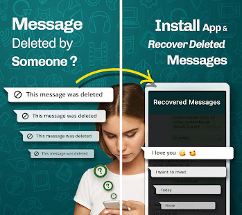 Download WhatsDeleted: Recover Deleted Messages For PC Windows and Mac apk screenshot 1