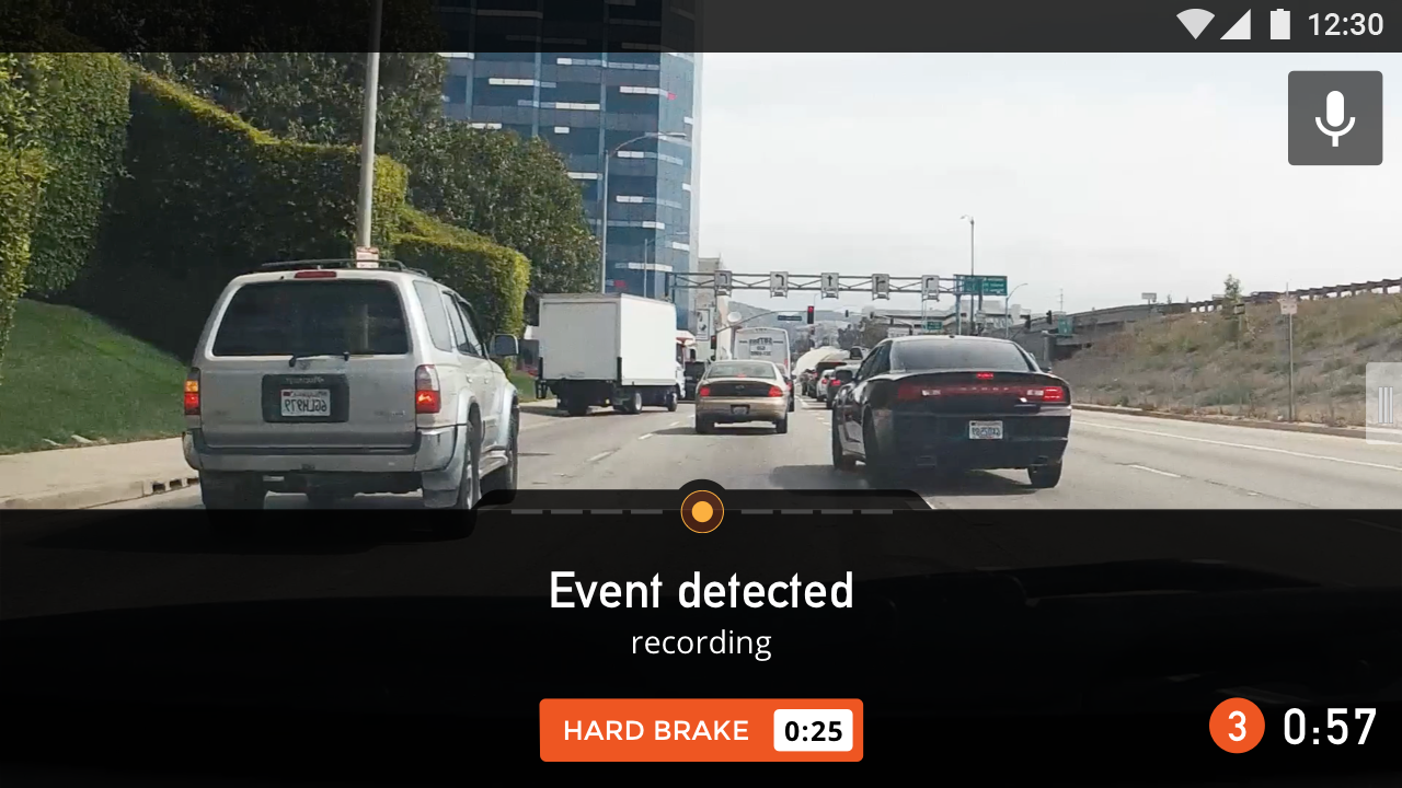 Nexar - AI Dashcam- screenshot
