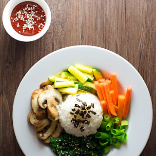 20-Minute Korean Bibimbap.