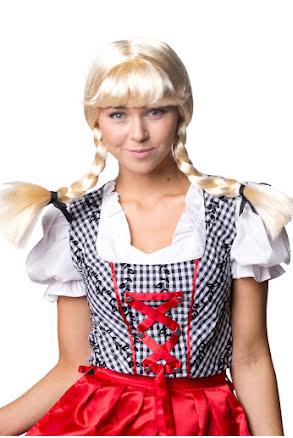 Peruk Bridget, blond