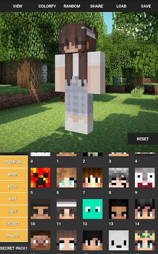 Custom Skin Creator For Minecraft 4.5 screenshots 13