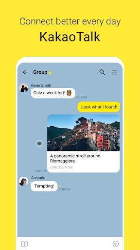 KakaoTalk: Free Calls & Text 8.7.4 screenshots 1