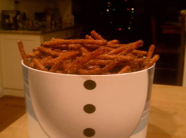 Whodini Spicy Pretzel Sticks Recipe