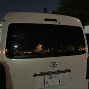 ハイエースワゴン TRH214W 25年式のカスタム事例画像 yuki⛄️さんの2018年08月17日23:21の投稿