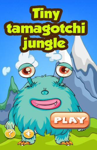 Tiny tamagotchi jungle